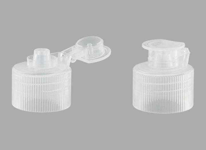 KR-5008 Manufacturers direct plastic material of the clamshell open 24/410 press cap