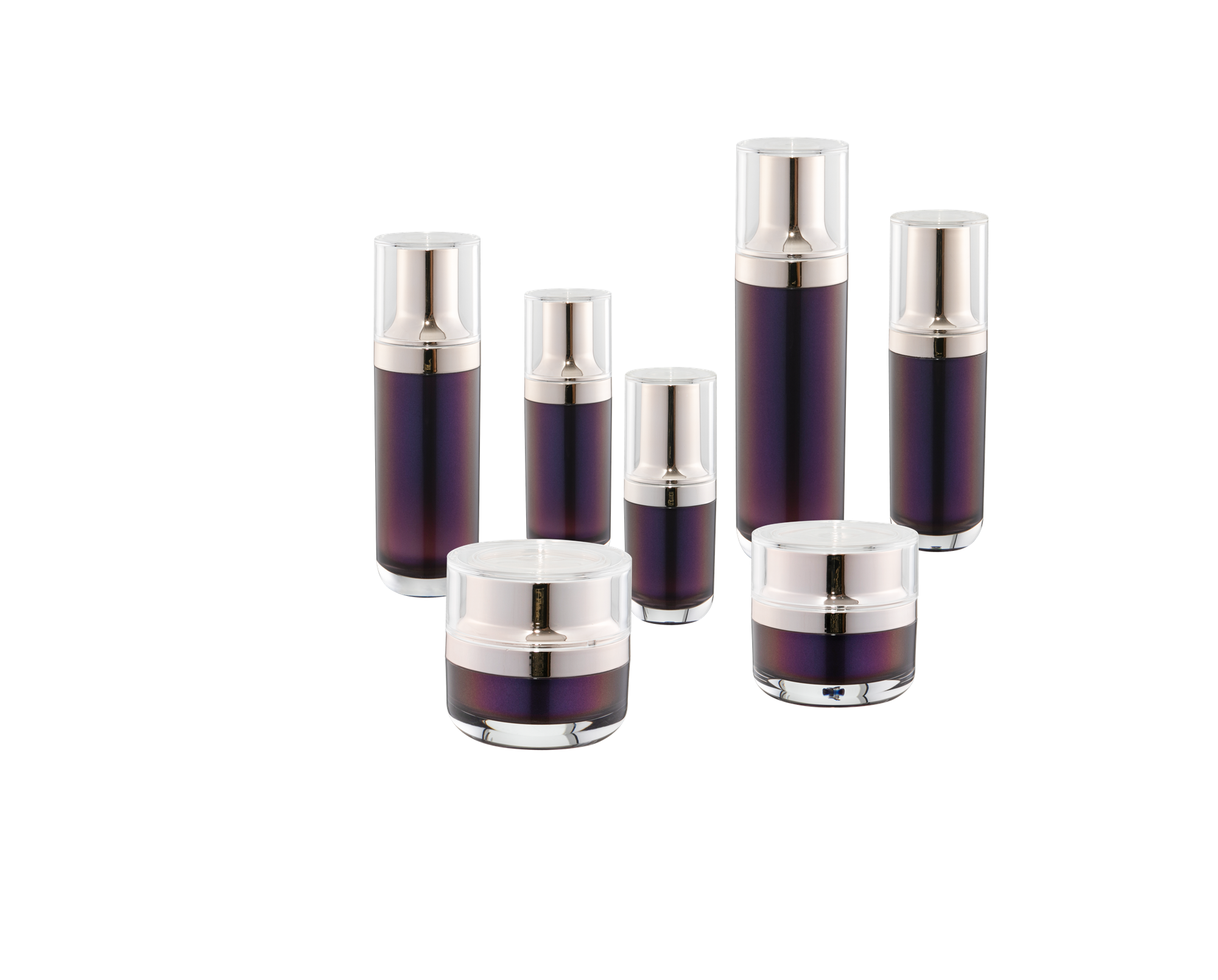 KR-4010 Acrylic cosmetic packaging Hot sell acrylic bottle and jar factory